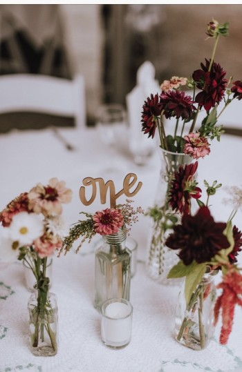 Jacey Kendall Photography, vintage flowers and vases